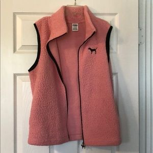 PINK Jackets & Coats - Pink Vest